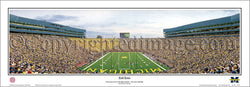 "Michigan Stadium ""End Zone"" Panoramic Poster Print - Everlasting Images 2010"
