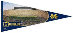 "Michigan Stadium ""Go Blue"" XL Premium Felt Pennant - Wincraft"