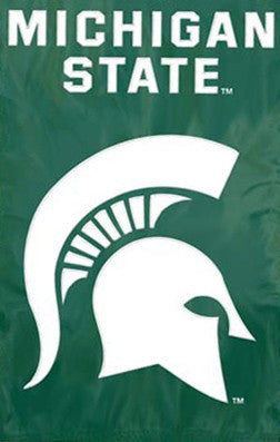 Michigan State Spartans Premium Applique Banner - Party Animal