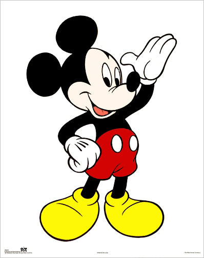 "Mickey Mouse ""Hello Classic"" Disney Poster - OSP Publishing"