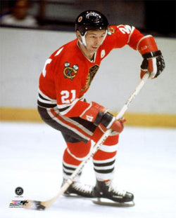 Stan Mikita Chicago Blackhawks Classic (c.1972) Premium Poster Print - Photofile Inc.