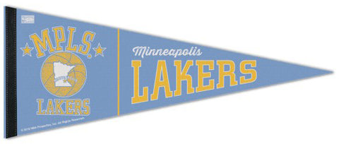 Minneapolis Lakers NBA Retro Classic (1947-60) Premium Felt Pennant - Wincraft