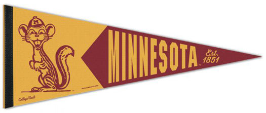 "Minnesota Golden Gophers NCAA ""Goldy Classic"" 1960s-Style Premium Felt Collector's Pennant - Wincraft Inc."