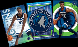 Minnesota Timberwolves NBA Basketball 3-Poster Combo (Andrew Wiggins, Jimmy Butler, Team Logo)
