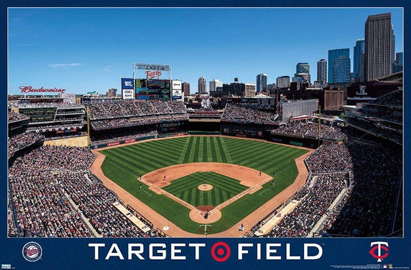 Minnesota Twins Target Field Gameday MLB Baseball Stadium Poster - Trends International