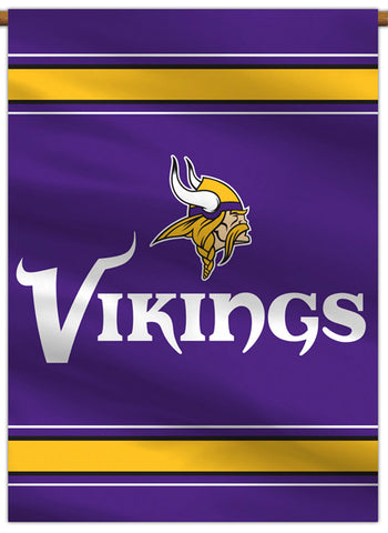 Minnesota Vikings Official NFL Football Team Premium 28x40 Banner Flag - BSI