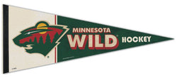 Minnesota Wild NHL Vintage Hockey Collection Premium Felt Collector's Pennant - Wincraft