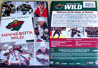 "DVD: Minnesota Wild ""State of Hockey"" DVD"