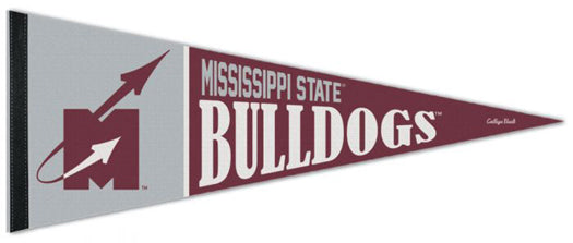Mississippi State Bulldogs Flying-M-Style (1966-71) NCAA Vintage Collection Premium Felt Collector's Pennant - Wincraft Inc.