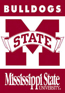 Mississippi State Bulldogs Banner - BSI Products