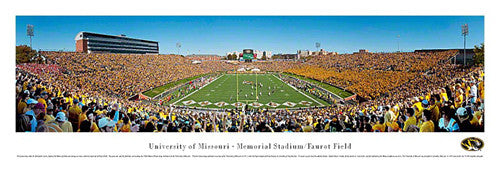 "MIssouri Tigers ""Homecoming Heroics"" Panoramic Poster - Blakeway 2011"