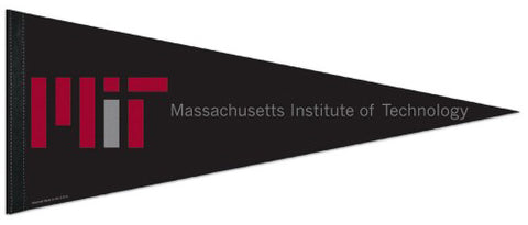MIT Massachusetts Institute of Technology Engineers Official NCAA Team Logo Premium Felt Pennant - Wincraft Inc.