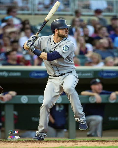 "Mitch Haniger ""Slugger"" Seattle Mariners Premium MLB Poster Print - Photofile 16x20"