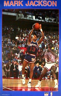 Mark Jackson New York Knicks Rookie Season (1987-88) Poster - Starline Inc.