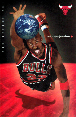 "Michael Jordan ""The Chosen One"" Chicago Bulls Poster - Costacos Brothers 1998"
