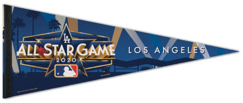 MLB Baseball All-Star Game 2020 Los Angeles Official Premium Felt Commemorative Pennant - Wincraft