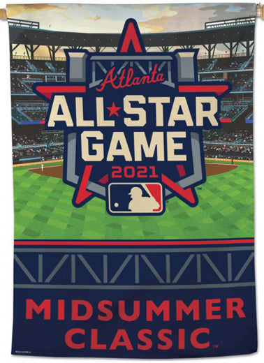MLB Baseball All-Star Game 2021 Official Event Wall Banner Premium 28x40 - Wincraft Inc.