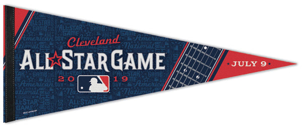 MLB Baseball All-Star Game 2019 (Cleveland) Official Premium Felt Commemorative Pennant - Wincraft