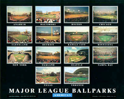 Major League Ballparks: American - Aerial Views 2004