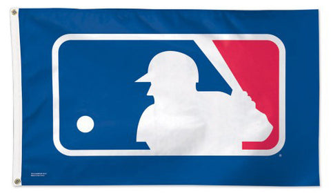 Major League Baseball MLB BATTER UP Official League Logo 3'x5' DELUXE Banner Flag - Wincraft
