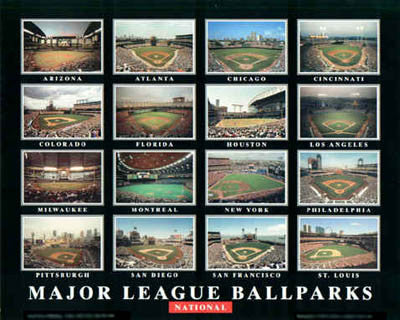 Major League Ballparks: National - Aerial Views 2004