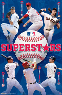 Major League Baseball Superstars 2012 Collage Poster - Costacos