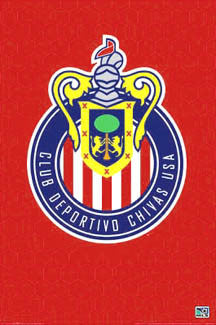 Chivas USA Official MLS Club Crest Poster - NMR Posters