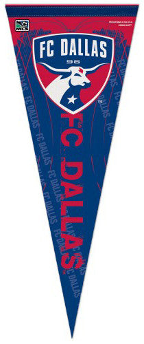 FC Dallas Official MLS Soccer Premium Felt Collector's Pennant - Wincraft Inc.