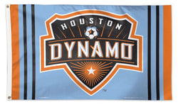 Houston Dynamo Official MLS Soccer DELUXE 3' x 5' Flag - Wincraft Inc.