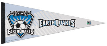 San Jose Earthquakes Official MLS Premium Felt Pennant - Wincraft Inc.