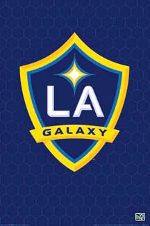 L.A. Galaxy Official MLS Club Crest Poster - NMR Posters