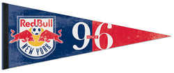 MLS New York Red Bulls Premium Felt Pennant - Wincraft