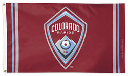 Colorado Rapids Official MLS Soccer DELUXE 3' x 5' Flag - Wincraft Inc.