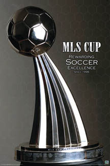 "MLS Cup ""Rewarding Soccer Excellence Since 1996"" Poster"
