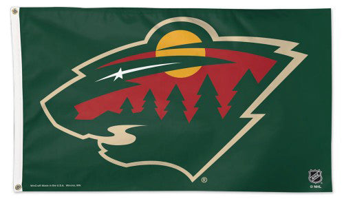 Minnesota Wild Official NHL Hockey Deluxe-Edition 3'x5' Team FLAG - Wincraft