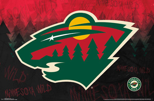 Minnesota Wild Official NHL Hockey Team Logo Wall Poster - Trends International