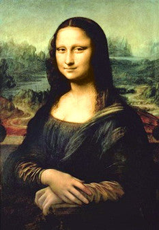 Mona Lisa by Leonardo da Vinci Art Poster Reprint - Pyramid (UK)