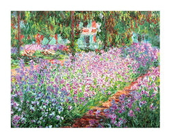 """Irisies in the Garden at Giverny"" (1900) by Claude Monet - Eurographics"
