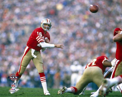"Joe Montana ""Super Bowl Superstar"" (1985) Premium Poster Print - Photofile Inc."