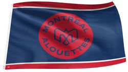 Montreal Alouettes CFL Football Official Team Banner 3'x5' FLAG - The Sports Vault