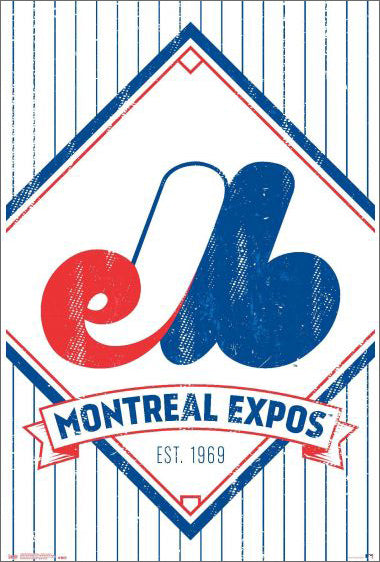 Montreal Expos est. 1969 Official MLB Baseball Classic Team Logo Poster - Trends International