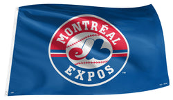 Montreal Expos MLB Baseball Classic 3'x5' Official Team Banner FLAG - The Sports Vault