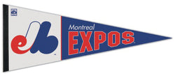 Montreal Expos Retro 1970s-Style MLB Cooperstown Collection Premium Felt Pennant - Wincraft Inc.
