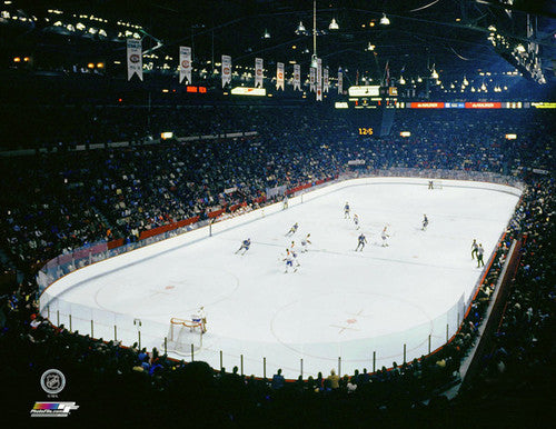 Montreal Forum Canadiens Game Night (c.1979) Premium NHL Poster Print - Photofile Inc.