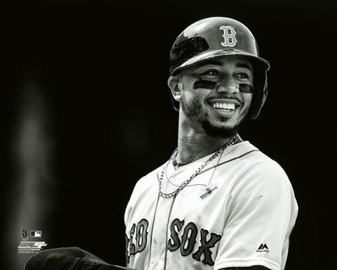 "Mookie Betts ""Love the Game"" Boston Red Sox Premium MLB Poster Print - Photofile 16x20"