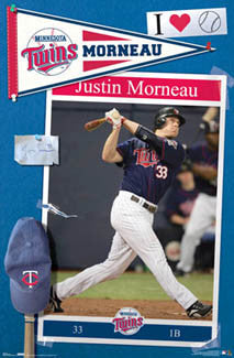 "Justin Morneau ""Fan Wall"" - Costacos 2007"