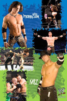 Morrison and The Miz WWE Wrestling Poster - Costacos 2008