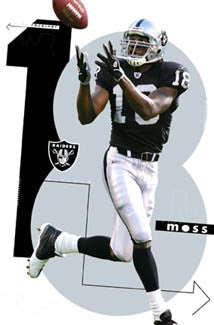 "Randy Moss ""Silver and Black"" - Costacos 2005"