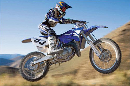 Motocross Desert Racer Action Poster - Eurographics Inc.