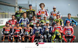 MotoGP Circuit Motorcycle Racing Drivers Official Poster (2011) - Pyramid International